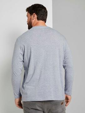 Langarmshirt mit Print - 2 - Tom Tailor E-Shop Kollektion