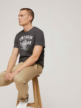 T-Shirt mit Print im Doppelpack - 5 - TOM TAILOR