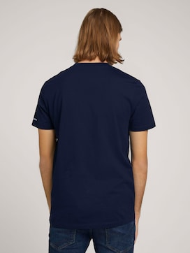 Basic T-Shirt aus Baumwolle - 2 - TOM TAILOR Denim