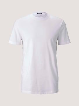 Basic T-Shirt aus Baumwolle - 7 - TOM TAILOR Denim