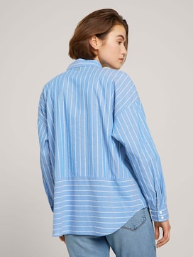 Gestreepte Tuniek Blouse - 2 - TOM TAILOR Denim
