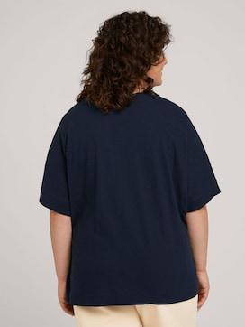 T-shirt met knoopsluiting - 2 - My True Me
