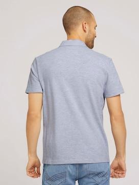 strukturiertes Poloshirt mit Bio-Baumwolle - 2 - TOM TAILOR