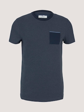 strukturiertes T-Shirt - 7 - TOM TAILOR