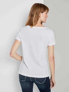 T-Shirt mit Print - 2 - TOM TAILOR