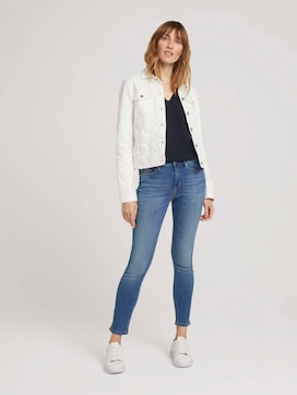 Kate Cropped Stretch Skinny Jeans - 3 - TOM TAILOR