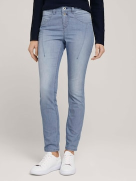 Gestreifte Tapered Relaxed Jeans - 1 - TOM TAILOR