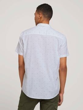 Kurzarmhemd mit Palmenprint - 2 - TOM TAILOR Denim