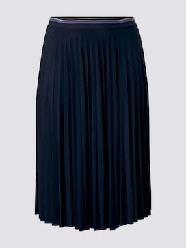 Pleated midi skirt - 1 - My True Me
