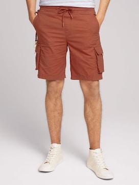 Regular cargo jogger shorts - 1 - TOM TAILOR Denim