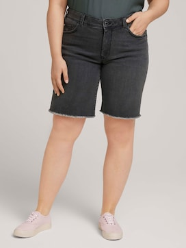 Denim Relaxed shorts - 1 - My True Me