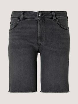 Curvy - Denim Relaxed Shorts - 7 - My True Me