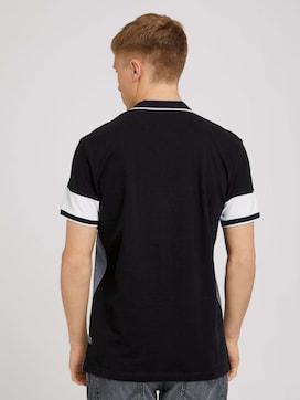 Poloshirt mit Streifenmuster - 2 - TOM TAILOR Denim