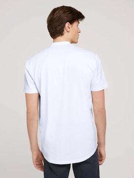 Kurzarmhemd mit Stehkragen - 2 - TOM TAILOR Denim