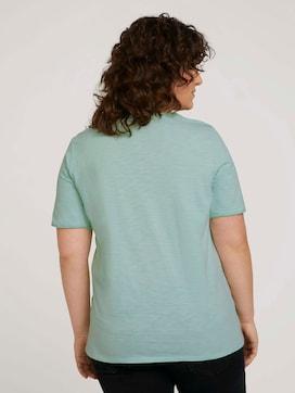 T-shirt met print van biologisch katoen - 2 - My True Me