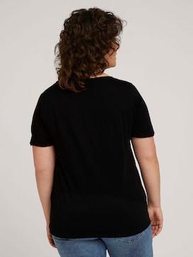 T-Shirt mit Print aus Bio-Baumwolle - 2 - My True Me