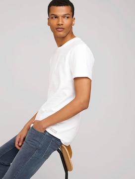 strukturiertes T-Shirt - 5 - TOM TAILOR Denim