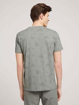 gemustertes T-Shirt mit Bio-Baumwolle - 2 - TOM TAILOR Denim