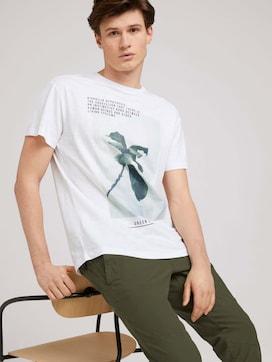 T-shirt met print van biologisch katoen - 5 - TOM TAILOR Denim