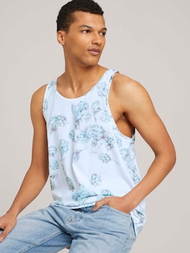 gemustertes Tanktop - 5 - TOM TAILOR Denim