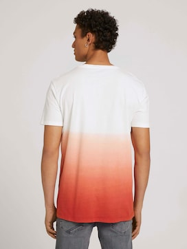 T-shirt met verloop - 2 - TOM TAILOR Denim