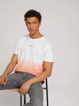 T-shirt met verloop - 5 - TOM TAILOR Denim