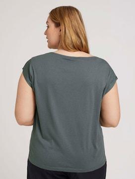T-shirt met mouwdetail - 2 - My True Me