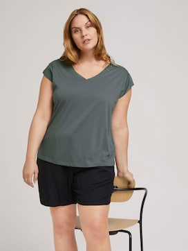 T-shirt met mouwdetail - 5 - My True Me
