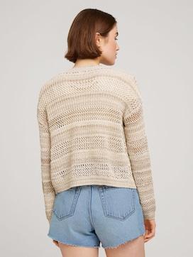 Loose cardigan with texture - 2 - TOM TAILOR Denim