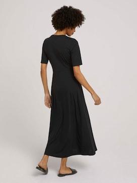 Pleated maxi dress - 2 - Mine to five