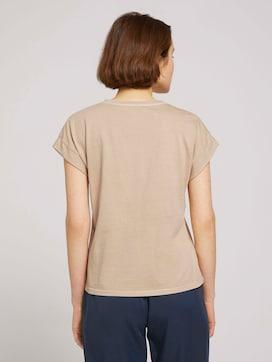 T-shirt met manchet - 2 - TOM TAILOR Denim