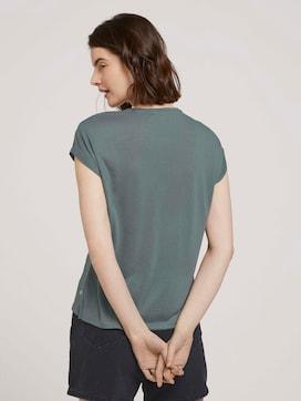 T-Shirt mit Ärmelaufschlag - 2 - TOM TAILOR Denim