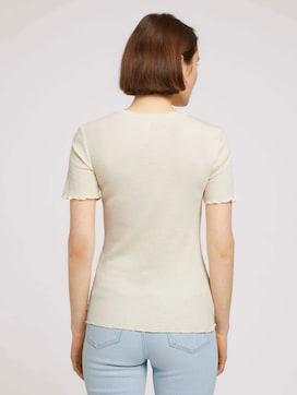 getextureerd T-shirt - 2 - TOM TAILOR Denim
