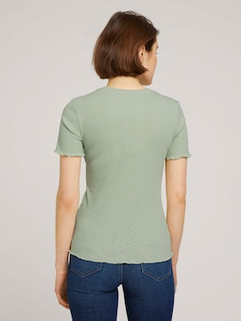 strukturiertes T-Shirt - 2 - TOM TAILOR Denim