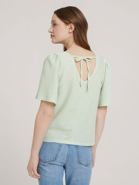 T-shirt with a low back - 2 - TOM TAILOR Denim