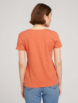 T-Shirt mit Bio-Baumwolle - 2 - TOM TAILOR Denim