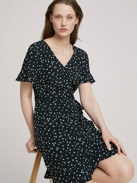 patterned mini wrap dress - 5 - TOM TAILOR Denim