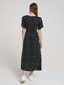 patterned midi dress - 2 - TOM TAILOR Denim