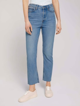 Emma Straight Jeans mit TENCEL(TM) - 1 - TOM TAILOR Denim