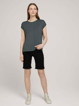 Lina Bermuda Shorts mit Bio-Baumwolle - 3 - TOM TAILOR Denim