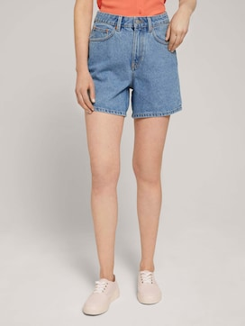 Mom Fit Shorts - 1 - TOM TAILOR Denim