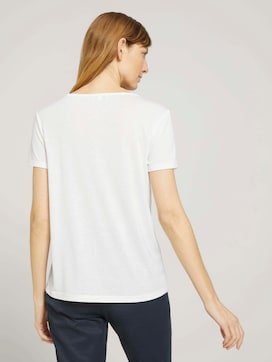 T-Shirt mit Knotendetail - 2 - TOM TAILOR