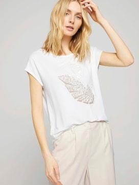 Print T-Shirt mit LENZING(TM) ECOVERO(TM) - 5 - TOM TAILOR