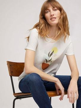 T-Shirt mit Bio-Baumwolle - 5 - TOM TAILOR
