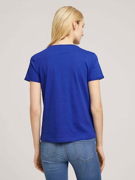 T-Shirt aus Bio-Baumwolle - 2 - TOM TAILOR