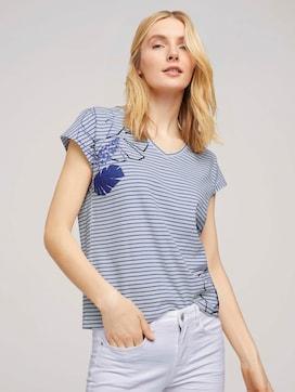 Gestreiftes T-Shirt aus Bio-Baumwolle - 5 - TOM TAILOR