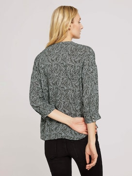 3/4 Arm Bluse mit TENCEL(TM) - 2 - TOM TAILOR