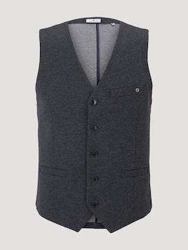 Vest in melange look - 7 - TOM TAILOR