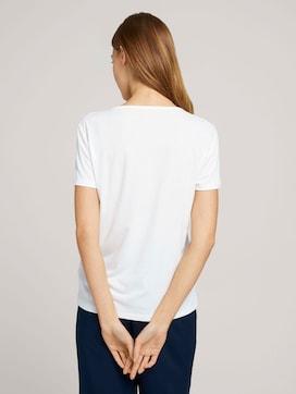 T-Shirt mit V-Ausschnitt - 2 - TOM TAILOR