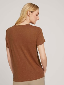 T-shirt with a chest pocket - 2 - TOM TAILOR